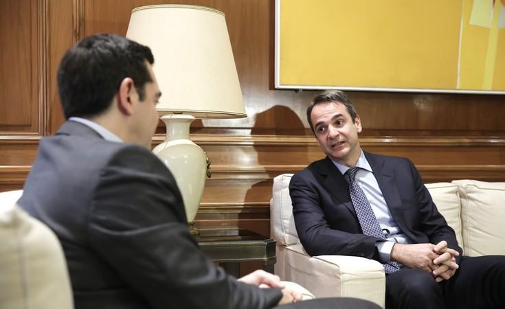 Εθνική γραμμή για το Κυπριακό ζήτησε ο Μητσοτάκης