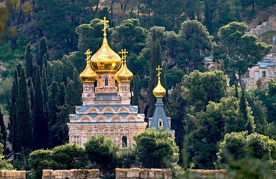 6. Εκκλησία της Μαρίας Μαγδαληνής, Iερουσαλήμ (Φωτογραφία: VISUALHELLAS.GR)
