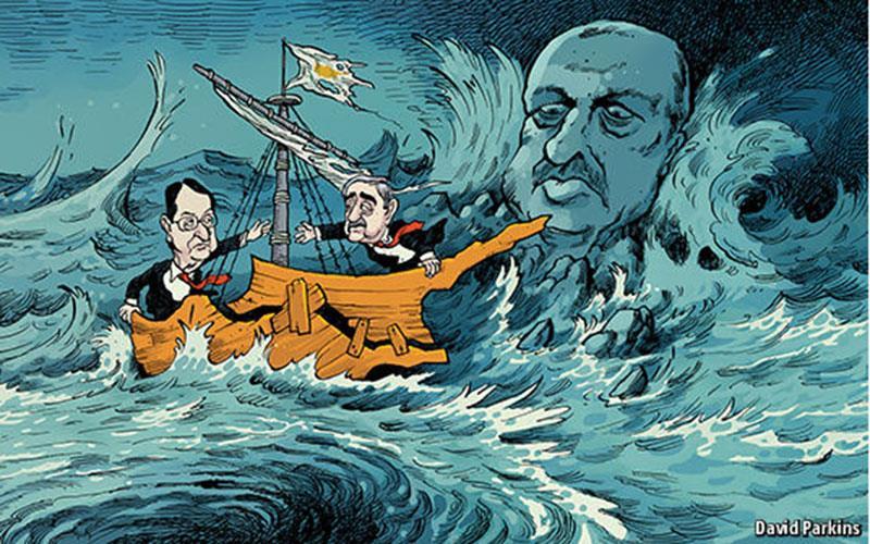 Economist: Η λύση του Κυπριακού επαφίεται στον Ερντογάν