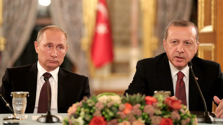 Russian President Vladimir Putin visits Turkey