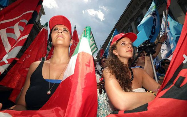 Στο 12% έφτασε η ανεργία στην Ιταλία τον Δεκέμβριο