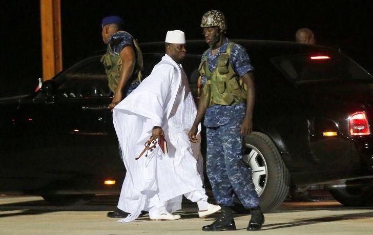 Με άδεια ταμεία άφησε τη χώρα του ο πρόεδρος της Γκάμπια