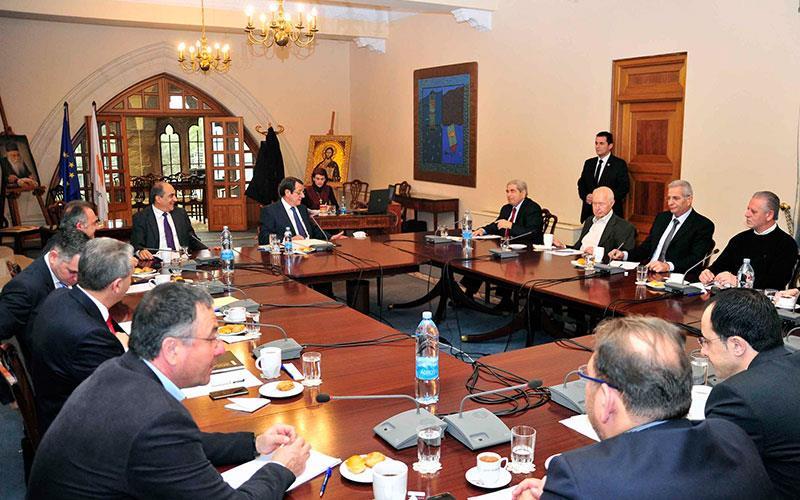 Σε εξέλιξη το Εθνικό Συμβούλιο ενόψει Γενεύης