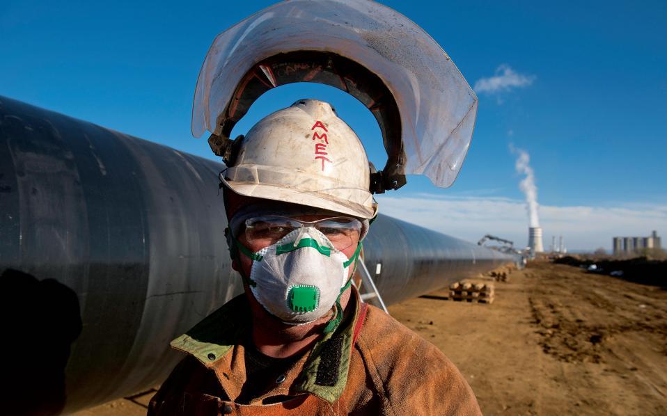 Το έργο καλύπτει σήμερα 1.500 άμεσες και έμμεσες θέσεις εργασίας. Φωτογραφίες: Αλέξανδρος Αβραμίδης