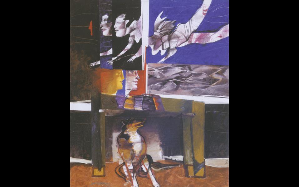 Ο Δ. Μυταράς όταν ζωγράφιζε «ήταν ευτυχισμένος και κελαηδούσε σαν το πουλί μπροστά στο καβαλέτο του», έλεγε η σύζυγός του.