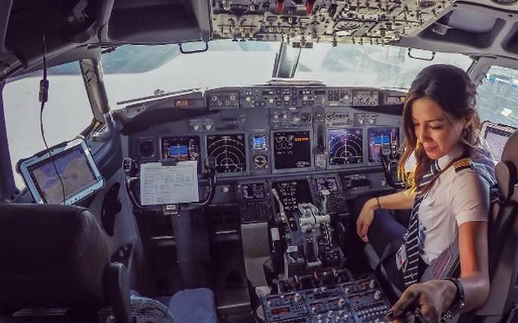 Η Τουρκάλα πιλότος που πάντα ήθελε να πετάξει F 16