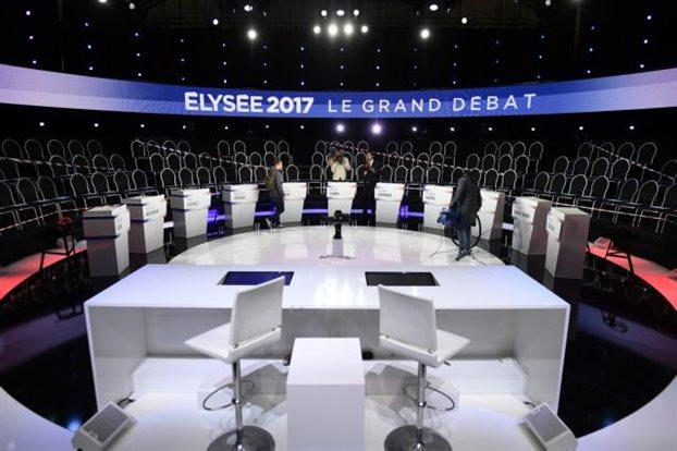 Γαλλία: Ντιμπέιτ των έντεκα υποψηφίων στις προεδρικές εκλογές