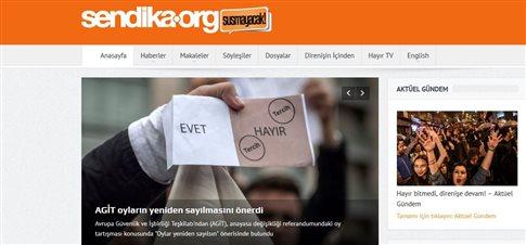Τουρκία: Σύλληψη διευθυντή ιστοσελίδας για σχόλια για το δημοψήφισμα