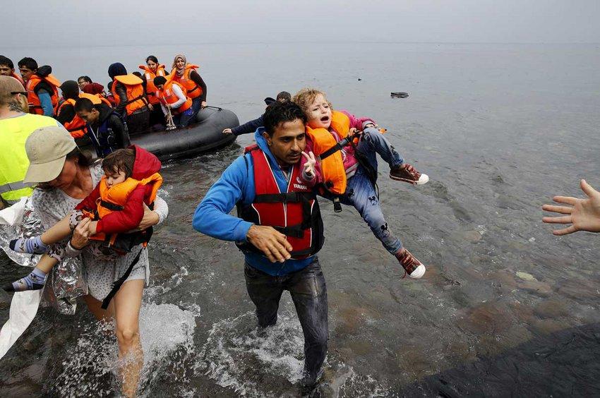 Συνολικά 205 άτομα αποβιβάστηκαν σε Χίο, Λέσβο και Σάμο μέσα σε ένα 24ωρο, σχεδόν όσα είχαν φτάσει τις πρώτες 11 μέρες του Απριλίου