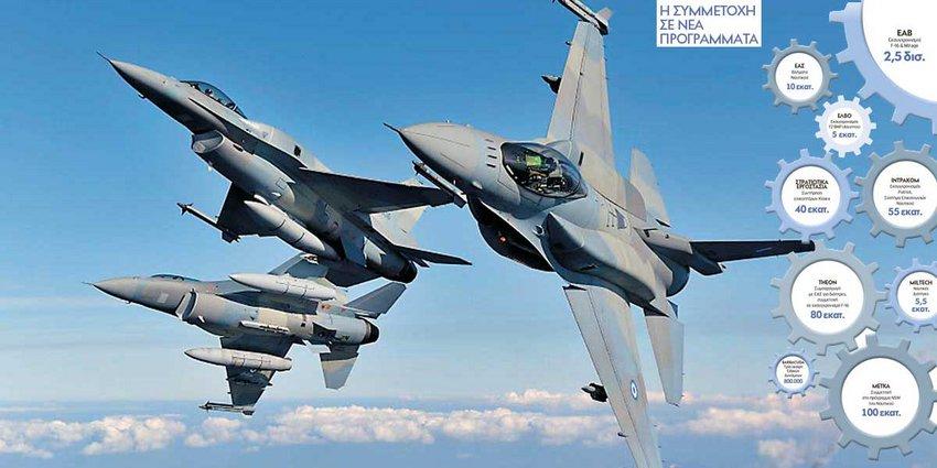 Πυραυλική «ασπίδα» στο Αιγαίο & εκσυγχρονισμός αεροσκαφών