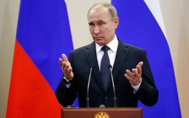 Πούτιν: Δεν χρησιμοποίησαν χημικά όπλα οι δυνάμεις του Άσαντ