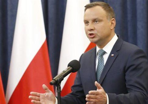 Βέτο από τον πρόεδρο της Πολωνίας στο νόμο-«θηλιά» στη Δικαιοσύνη