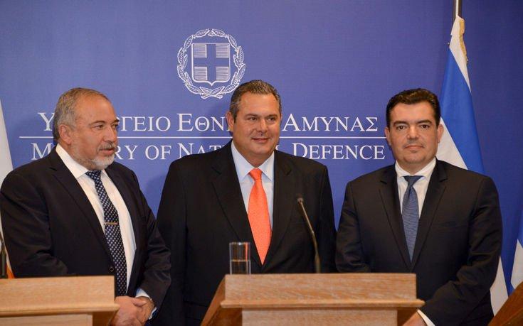 Ελλάδα, Ισραήλ και Κύπρος επισημοποίησαν τον στρατιωτικό τους άξονα