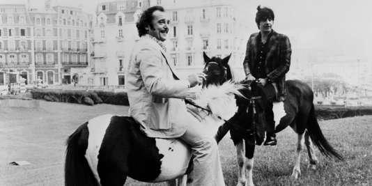 Jean-Marc Thibault (gauche) et Roger Pierre, le 24 août 1974.