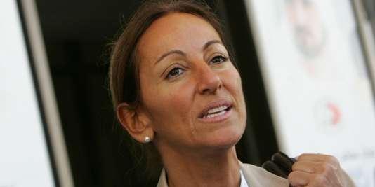 Véronique Robert, le 12 décembre 2007.