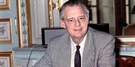 Michel Durafour, le 11 juillet 1988.