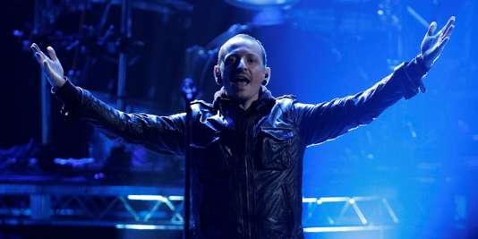 Chester Bennington le 18 novembre 2012.