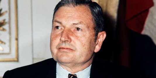 David Rockefeller, en février1972.