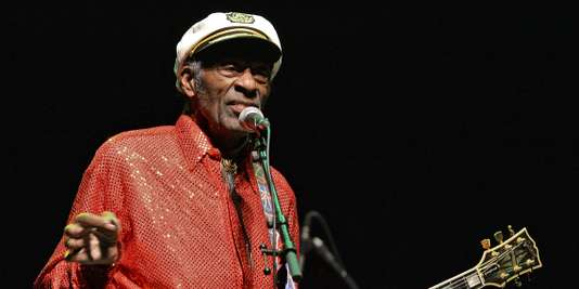 Chuck Berry, le 16 avril 2013.