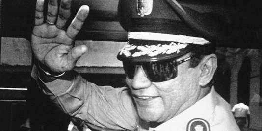 Manuel Noriega, le 31 août 1989.