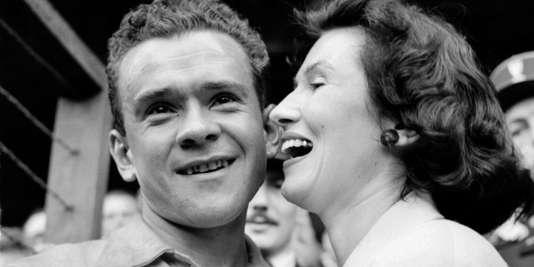 Roger Walkowiak, le 28 juillet 1956.
