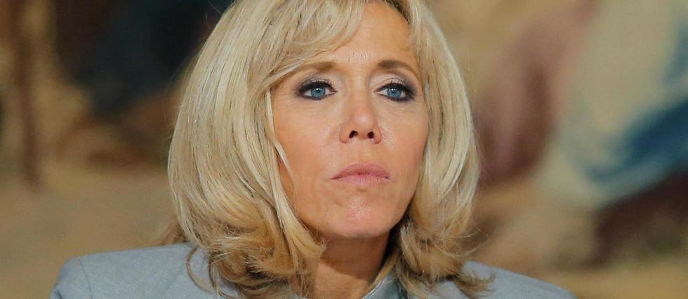 Brigitte Macron à l'Élysée en septembre 2017.