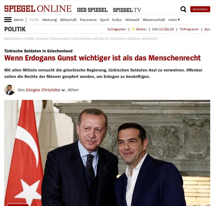 Spiegel for Spiegel 01 2018