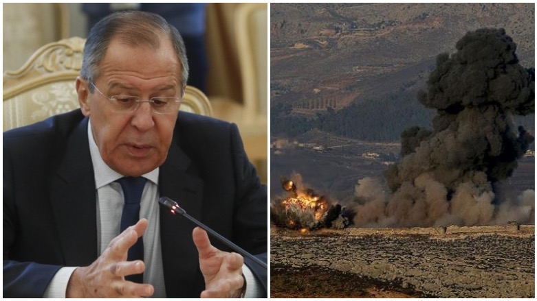 Russia's Lavrov calls Turkey, Syria to resolve Afrin crisis through 'direct dialogue'