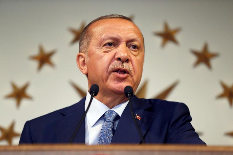 Οι πρώτες δηλώσεις Ερντογάν -AP Photo/Lefteris Pitarakis