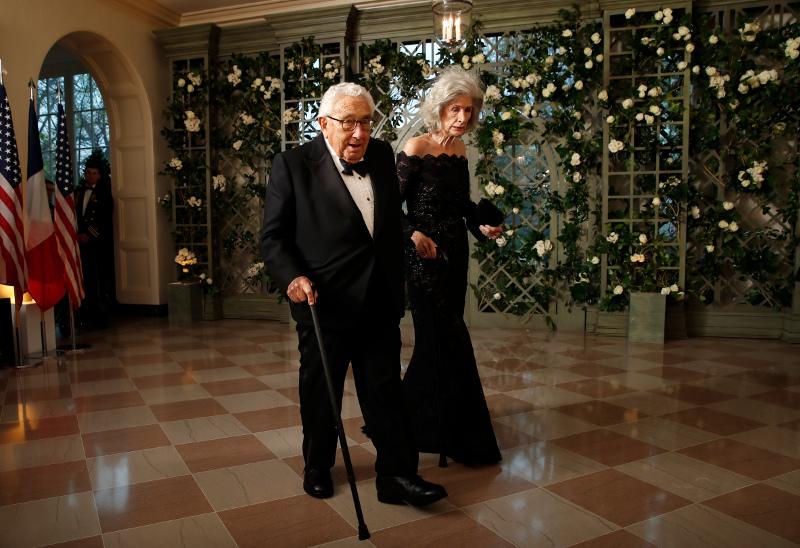 Ο Χένρι Κίσινγκερ με την σύζυγο του