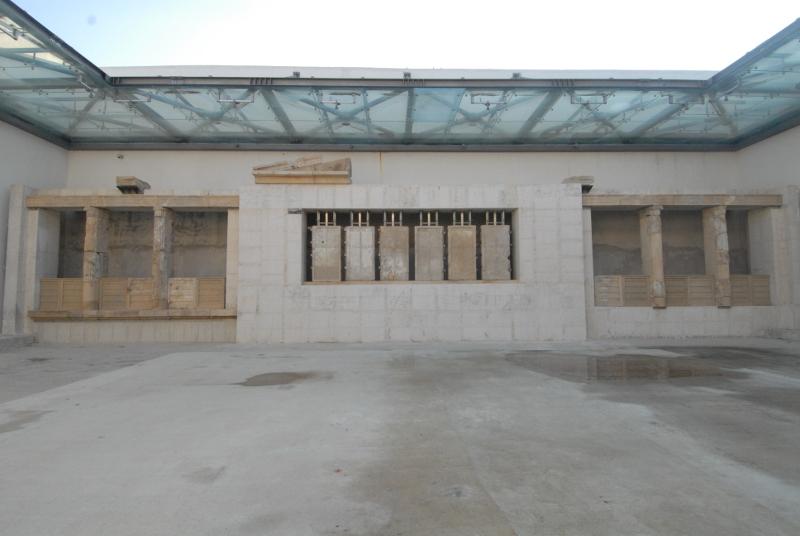 Από την πρόοδο των έργων στο Μουσείο