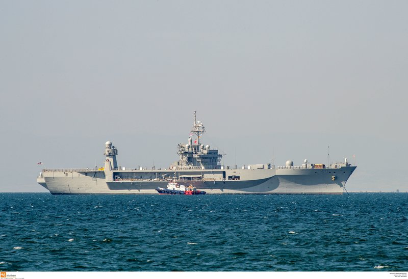 Η εικόνα του πλοίου εντυπωσιάζει