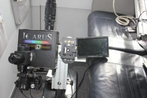 """Στιγμιότυπα του Φασματογράφου """" Ίκαρος"""", μέσα από την καμπίνα του αεροπλάνου Airbus A320 της AEGEAN"""