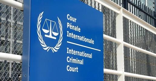 The Hague NL International criminal court.