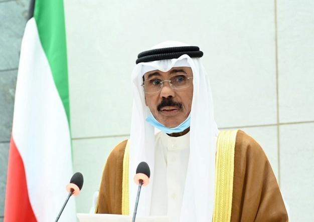 Kuwait's new Emir Nawaf al-Ahmad al-Sabah takes the oath of office